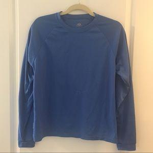 Blue Brooks for Women Long Sleeve Shirt